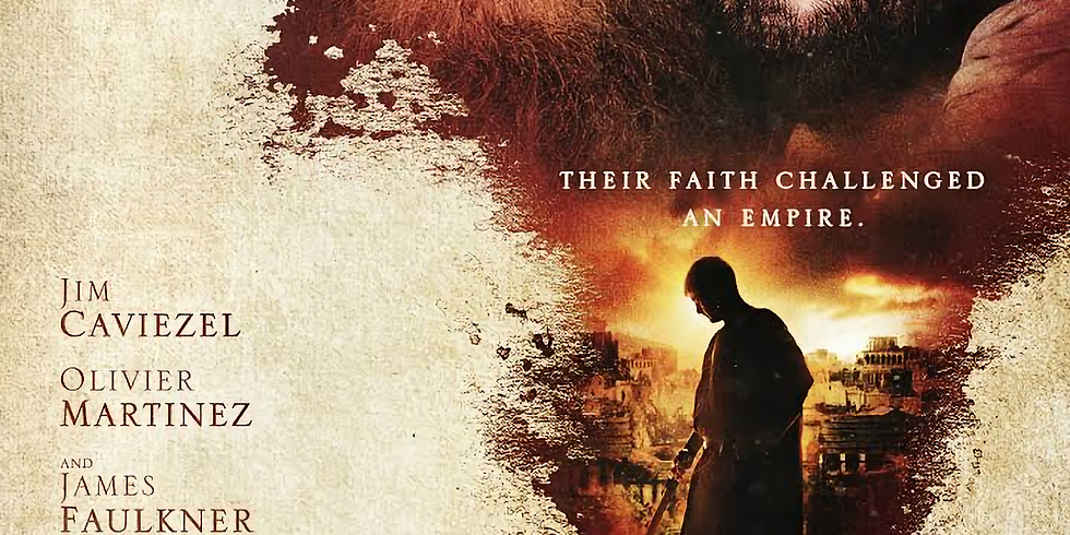 Paul, the Apostle of Christ Movie Night with Fr Mark