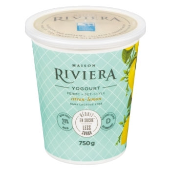 Riviera Lemon Yogurt - 750g