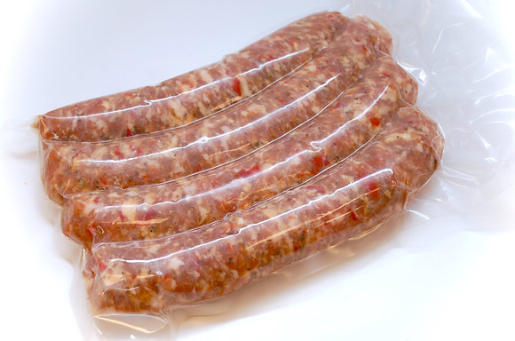 Parmesan and Roasted Pepper Sausage 4 Units