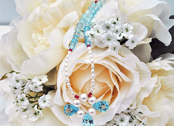 Angel Blue Necklace