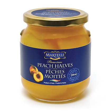 Martelli Peaches in Syrup - 580ml