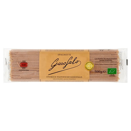 Whole Wheat Organic Spaghetti #509