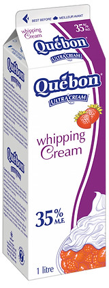 Quebon 35% Whipping Cream - 1L