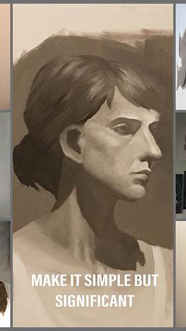 Portraits, Lorraine Yigit art