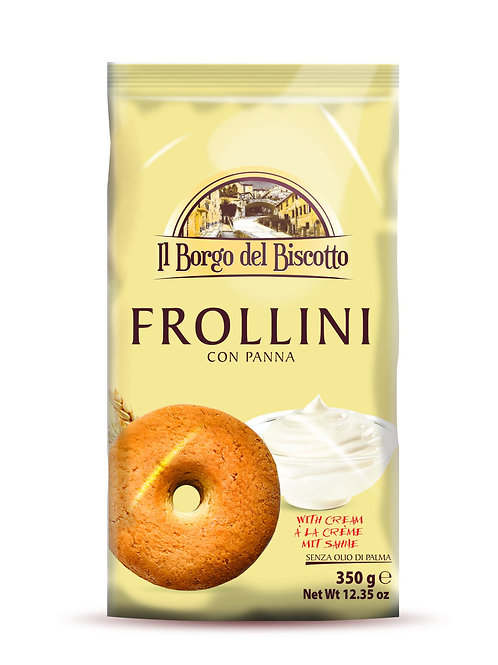 Frollini with Cream