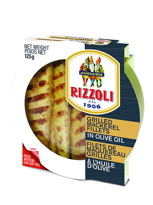 Rizzoli Grilled Mackerel Fillet in Olive Oil