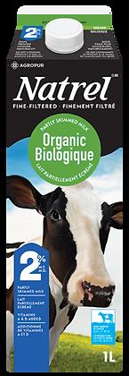 Natrel 2% Organic Milk - 1L