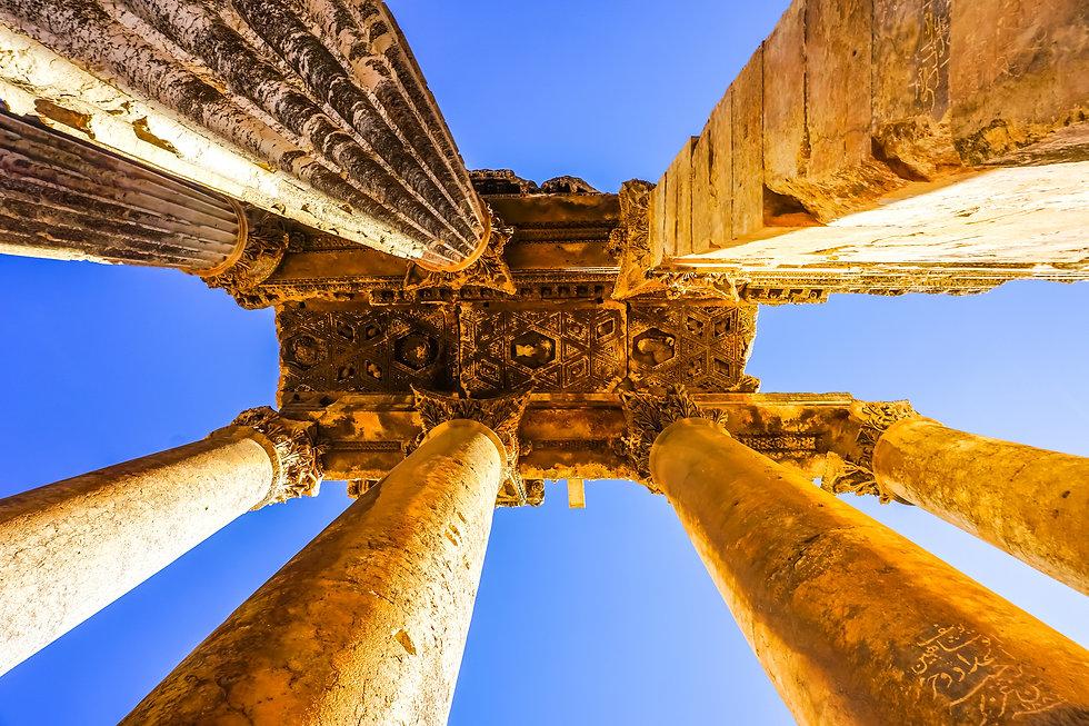 Baalbek Historical Landmark Temple of Ba