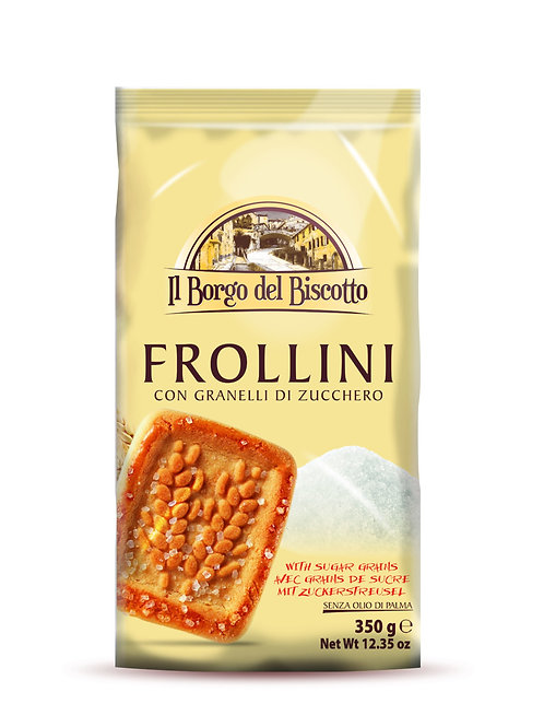 Frollini with Granulated Sugar