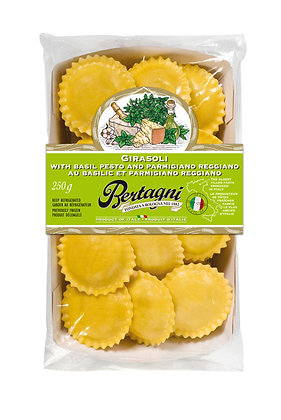Bertagni Basil Pesto and Parmigiano Girasoli - 250g