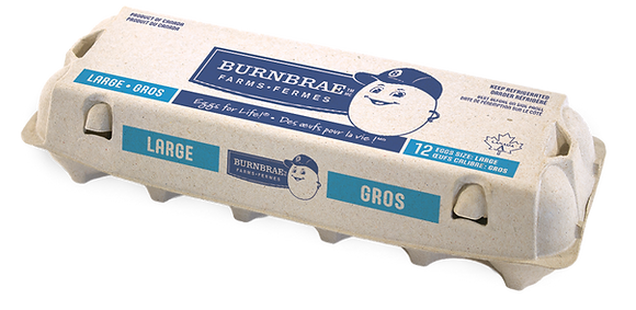 Burnbrae Farms Large Eggs - dozen
