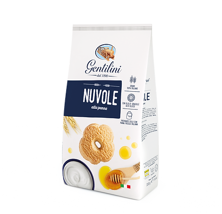 Gentilini Nuvole Cookies with Cream - 330g