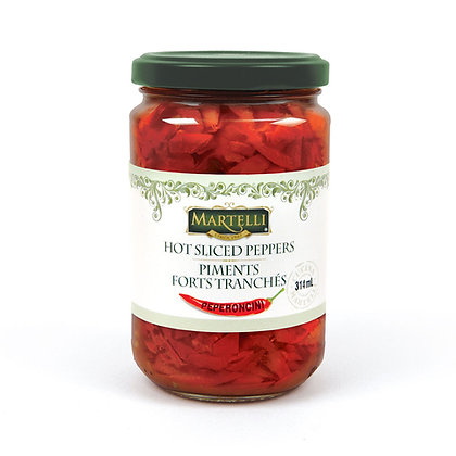 Martelli Hot Peppers - 314ml