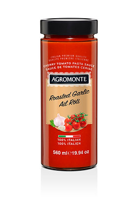Agromonte Roasted Garlic Cherry Tomato Sauce - 580ml