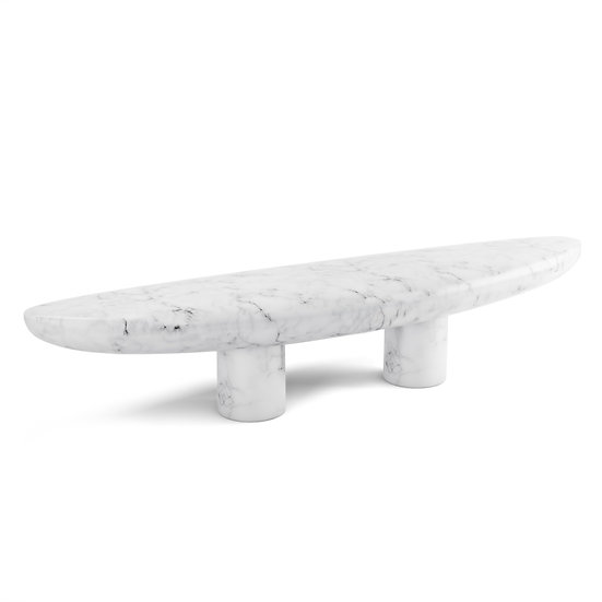 Mythic Marble Bench