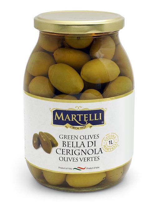 Martelli Green Bella Di Cerignola Olives