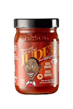 Jude's Mango Habanero BBQ Sauce 400ml