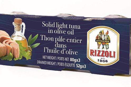 Rizzoli Solid Light Tuna in Olive Oil