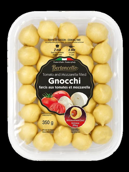 Gnocchi Stuffed with Tomato and Mozzarella