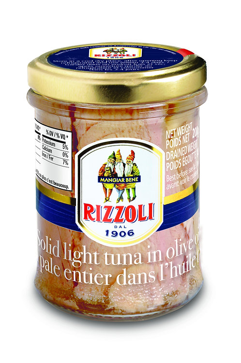 Rizzoli Tuna Fillet in Olive Oil