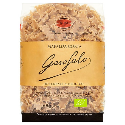 Garofalo Whole Wheat Organic Mafalda Corta #579 - 500g