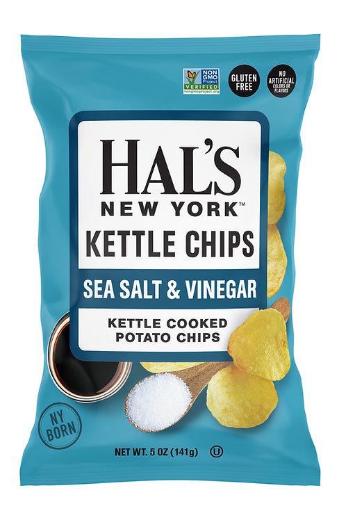 Sea Salt & Vinegar  Kettle Chips