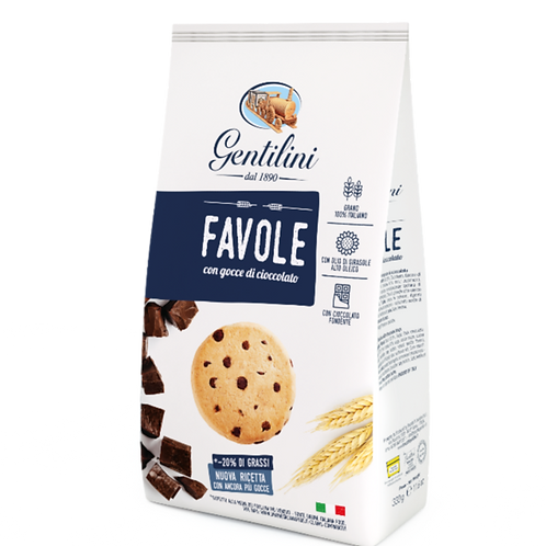 Gentilini Favole with chocolate chips