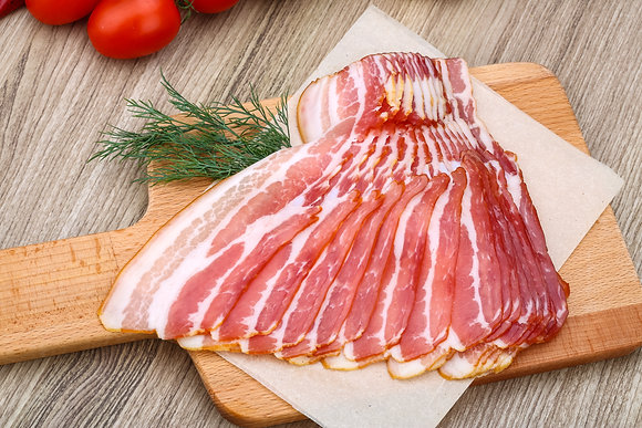 Sliced Bacon 200g Portion