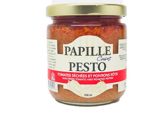 Papille Sundried Tomato and Roasted Pepper Pesto - 212ml