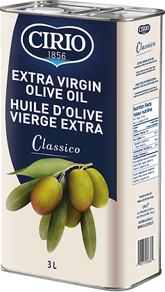 Cirio Extra Virgin Olive Oil - 3L