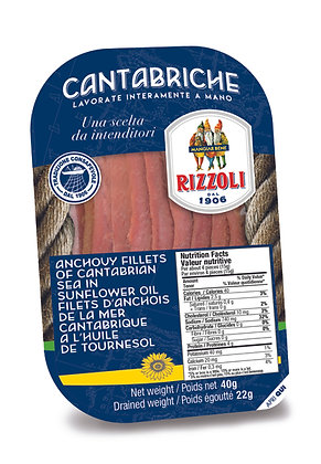 Rizzoli Anchovies in Grapeseed Oil - 40g
