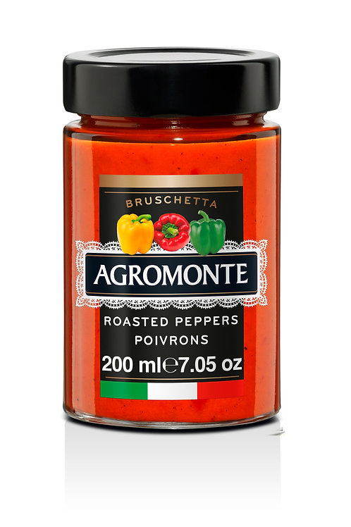 Agromonte Roasted Pepper Bruschetta