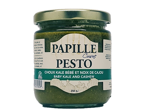 Papille Baby Kale and Cashew Pesto