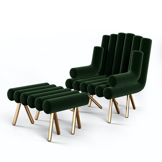 Flute Lounge Chair