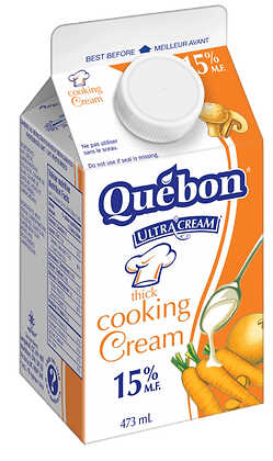 Quebon 15% Cooking Cream - 473ml