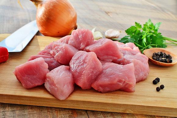 Pork Cubes 500g Portion
