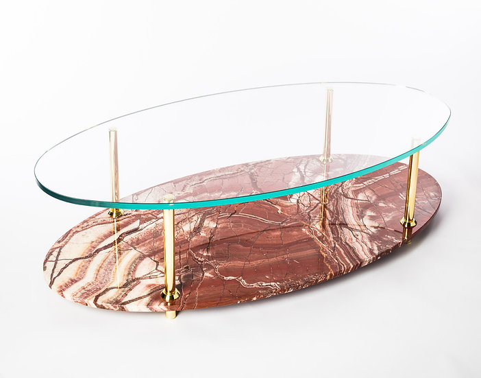 Oval MGB Coffee Table