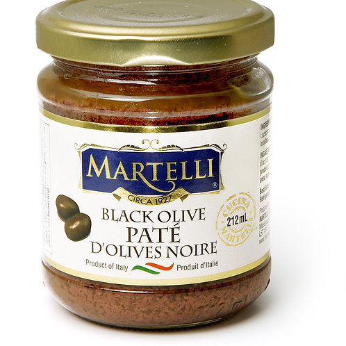 Martelli Black Olive Paté