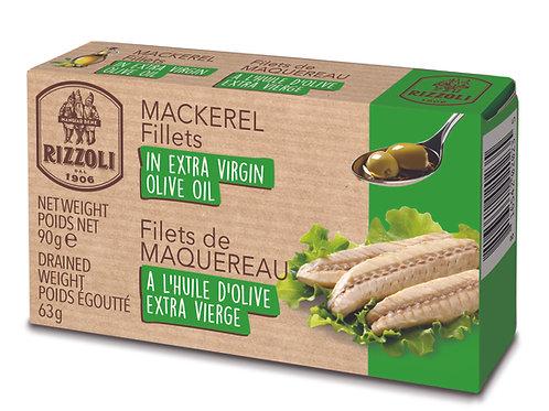 Organic Mackerel in Olive Oil
