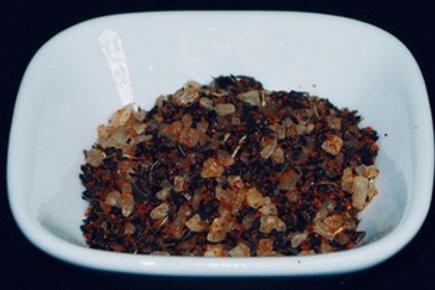 Basil and Tomato Infused Sea Salt