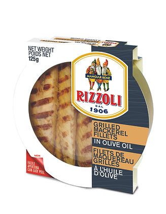 Rizzoli Grilled Mackerel in Olive Oil - 125g