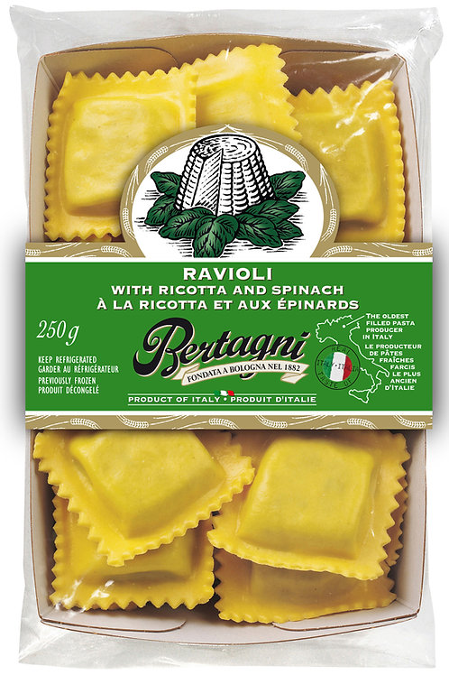 Bertagni Ricotta and Spinach Ravioli