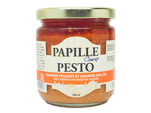 Papille Spicy Pepper and Roasted Almond Pesto