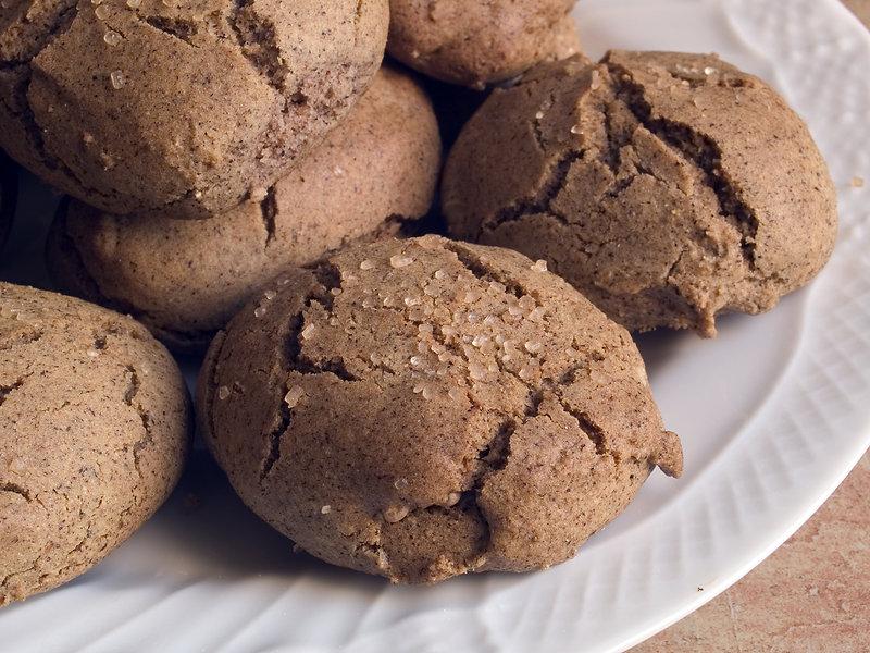 Italian cuisine: homemade cookies with w
