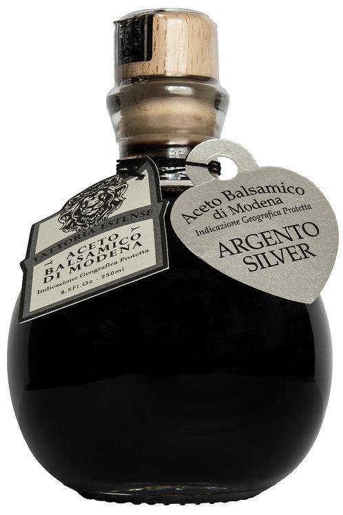 Fattoria Estense Balsamic Vinegar Palla- 10 year Silver