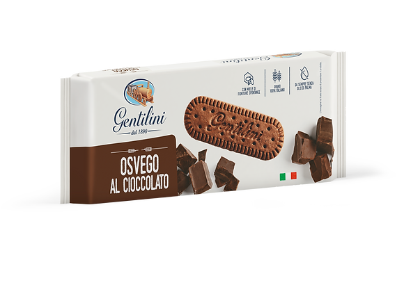 Gentilini Osvego Cookies with Chocolate - 250g