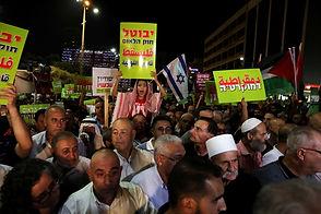 IsraelArabsProtestTelAvivRTS1X07I-630x42