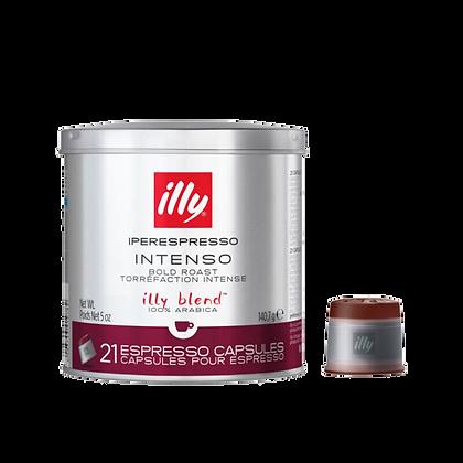 Illy Dark Roast Iper Capsules - 21 capsules