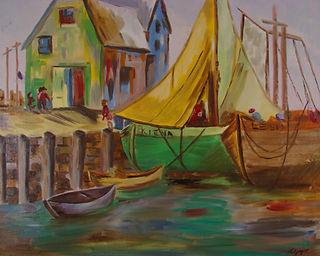 Shipping Days, Lorraine Yigit art
