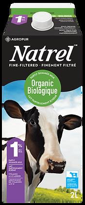 Natrel 1% Organic Milk - 2L